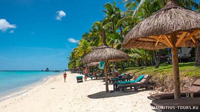 Пляж отеля Trou aux Biches