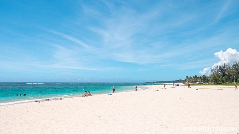 Пляжи на Маврикии - длинные с мягким песком