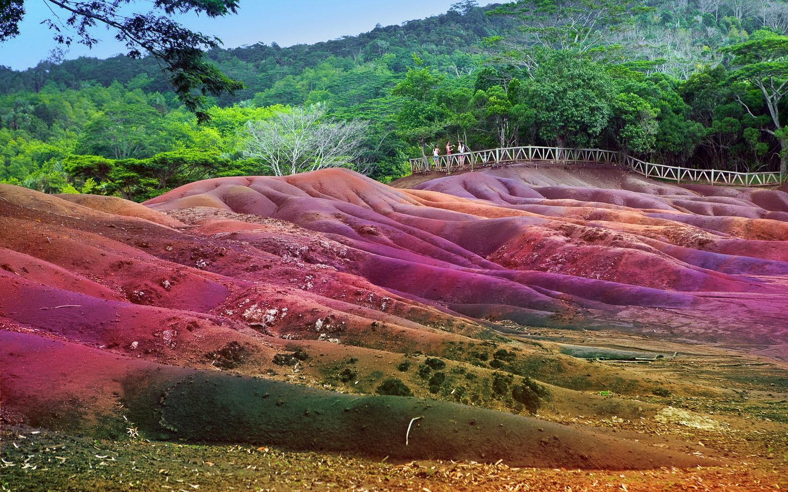 Шамарель - одна из главных достопримечательностей Маврикия