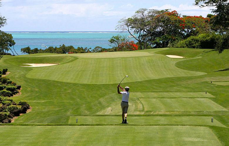 Чем заняться на Маврикии - гольф