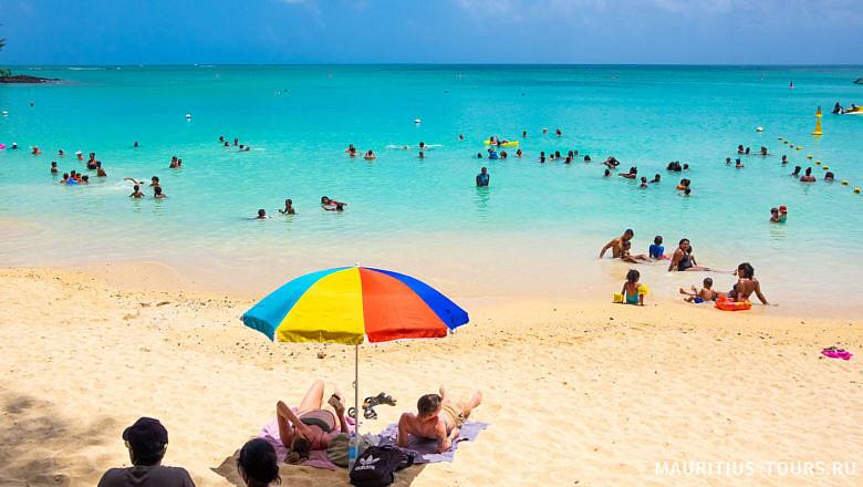 Отдых в детьми на Маврикии