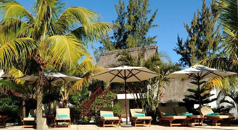 Недорогой отель на первой линии на Маврикии