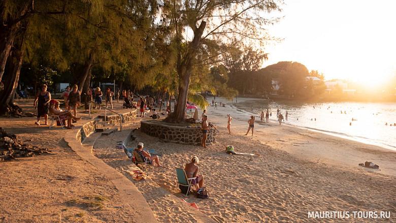 Отдых на пляже Перейбере, Маврикий
