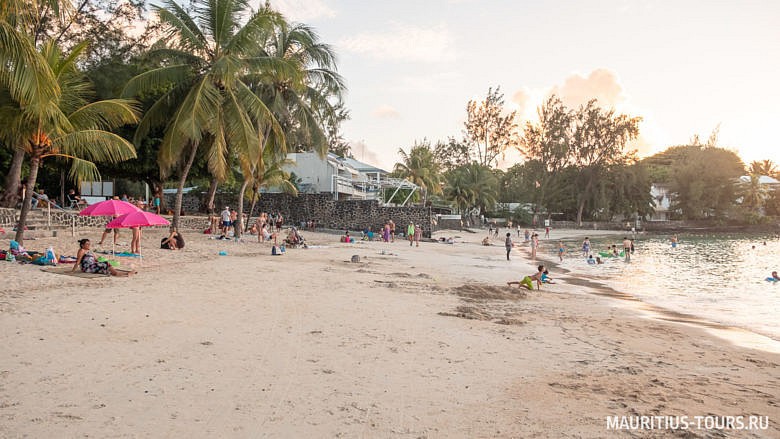 Отзыв о пляже Pereybere на Маврикии