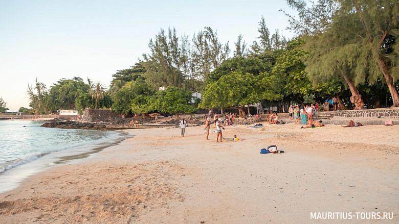 Пляж Pereybere на Маврикии