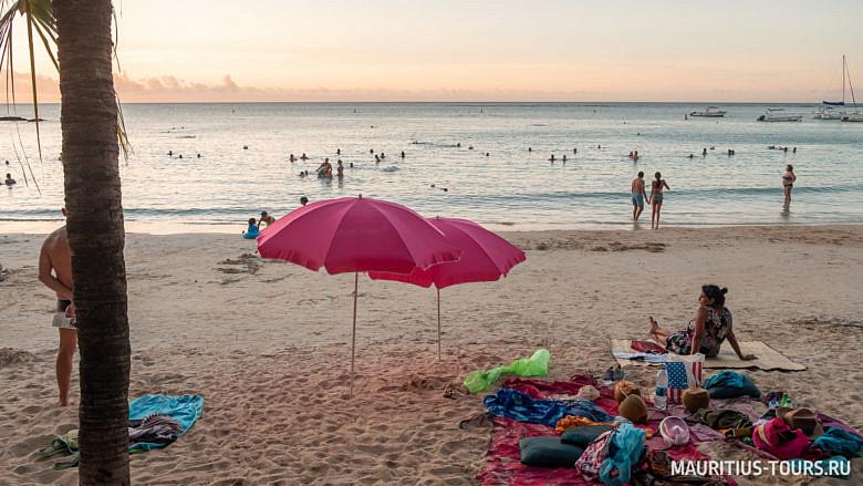Отзыв о пляже Перейбер на Маврикии