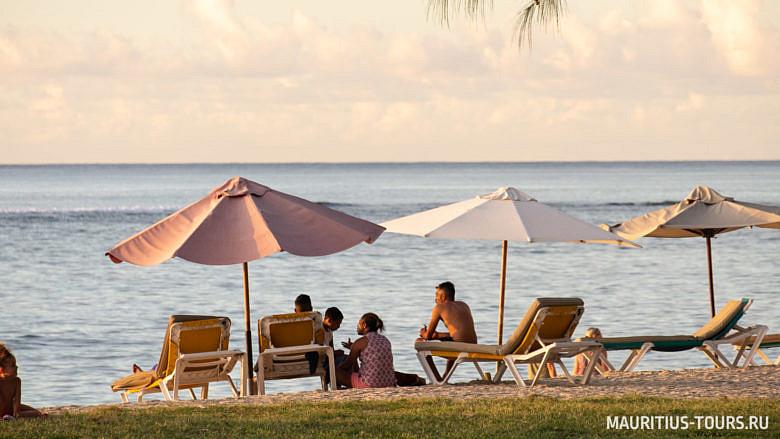Отдых на лучшем пляже Маврикия