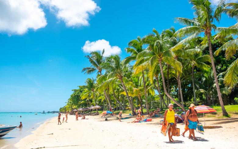 Как выглядит пляж Тру о Биш на Маврикии
