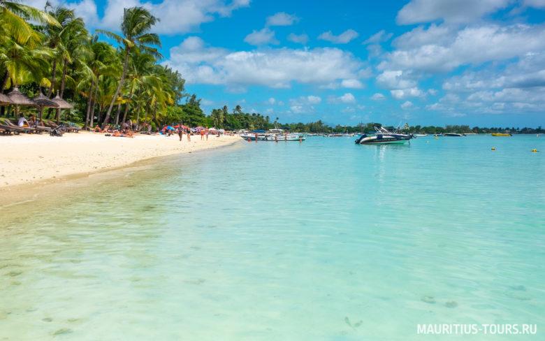 Отдых и развлечения на пляже Тру окс Биш, Маврикий