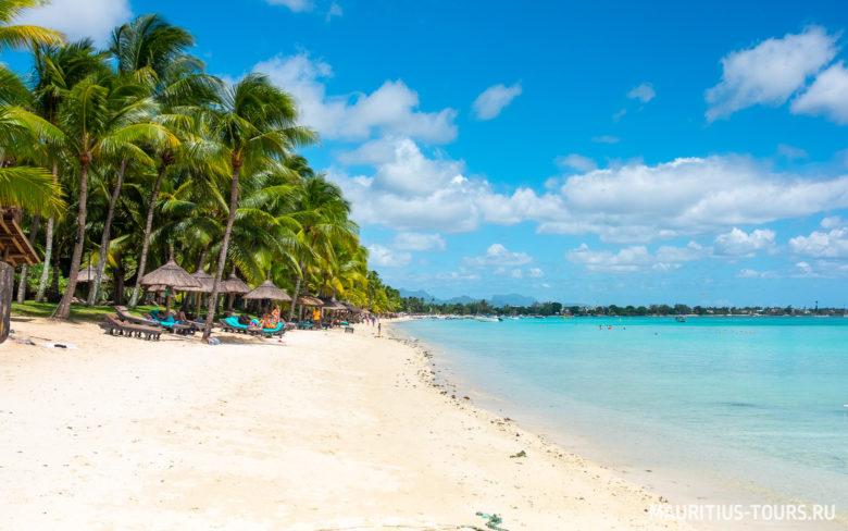 Отдых на пляже Trou aux Biches на Маврикии