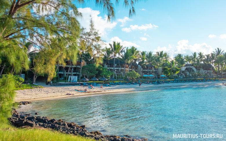 Отдых на пляже Бель Мар на Маврикии