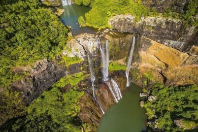 Водопады Тамарин на фото