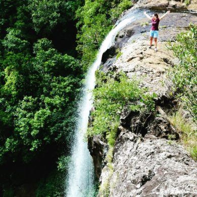 Маршруты трекинга к водопадам Тамарин