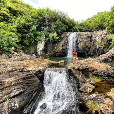 Треккинг к водопадам Тамарин на Маврикии