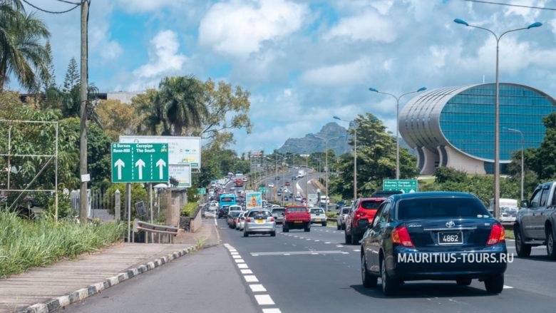 Как выглядят дороги на Маврикии